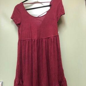 Soft Red Dress